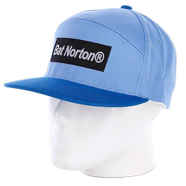 Бейсболка  Cap Blue Bat Norton. Цвет: голубой