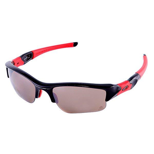 Очки Oakley Flak Jacket Xlj Kdv Pol Black Ti Iridium PolarizedДлина оправы: 13,5 смДлина душки:13,5 смВысота оправы:4см Профессиональным спортсменам необходимо только самое лучшее, и компания Oakley отвечала на их запросы десятилетиями. Спортсмены мирового класса привели компанию к тому, что были созданы самые инновационные очки со сменными линзами и непревзойденной оптической четкостью. Очки Flak Jacket  - это следующий уровень.   Технические характеристики:  Линза:Иридиевое покрытие усиливает зеленые и красные цвета, минимизирует блики.  Индекс защиты - 3 (поглощение интенсивности цвета от 82 до 92%).   Пропускание видимого света 16%  Четкость изображения и качество по стандарту ANSI Z87.1  100%  защита от ультрафиолета (излучений А, B и C, а также вредного синего света до 400 нм) Оттенок линзы - коричневый.   Оправа:  Прочный износоустойчивый материал O-Matter  Комфорт и безопасность посадки с тремя точками касания (Three-Point fit), которая позволяет сохранять оптическую корректность линз.  Нерегулиремая переносица.  Возможность быстрой замены линз.  Прямые дужки<br><br>Тип: Очки<br>Возраст: Взрослый<br>Пол: Мужской