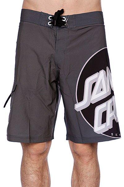 Пляжные мужские шорты Santa Cruz Other Dot Grey<br><br>Цвет: серый<br>Тип: Шорты пляжные<br>Возраст: Взрослый<br>Пол: Мужской