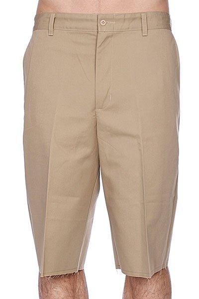 Классические мужские шорты Independent No Bs Work Khaki<br><br>Цвет: бежевый<br>Тип: Шорты классические<br>Возраст: Взрослый<br>Пол: Мужской
