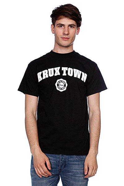 Футболка Krux K-Town Black<br><br>Цвет: черный<br>Тип: Футболка<br>Возраст: Взрослый<br>Пол: Мужской