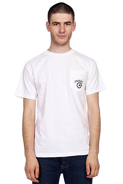 Футболка Innes Track Pocket White