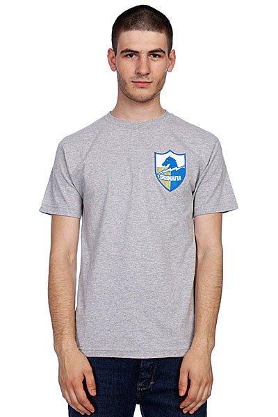 Футболка Sk8Mafia Old Skool Shield<br><br>Цвет: серый<br>Тип: Футболка<br>Возраст: Взрослый<br>Пол: Мужской