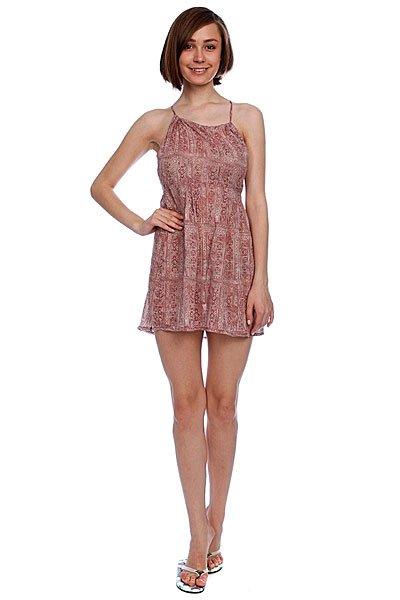 Платье женское Insight Goa Dress Dusty Pink<br><br>Цвет: красный,белый<br>Тип: Платье<br>Возраст: Взрослый<br>Пол: Женский