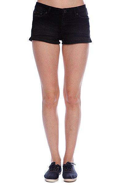 Шорты джинсовые женские Insight Low Rider Short Ash<br><br>Цвет: черный<br>Тип: Шорты джинсовые<br>Возраст: Взрослый<br>Пол: Женский