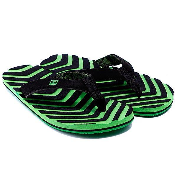 шле-панцы-globe-arrow-black-moto-green