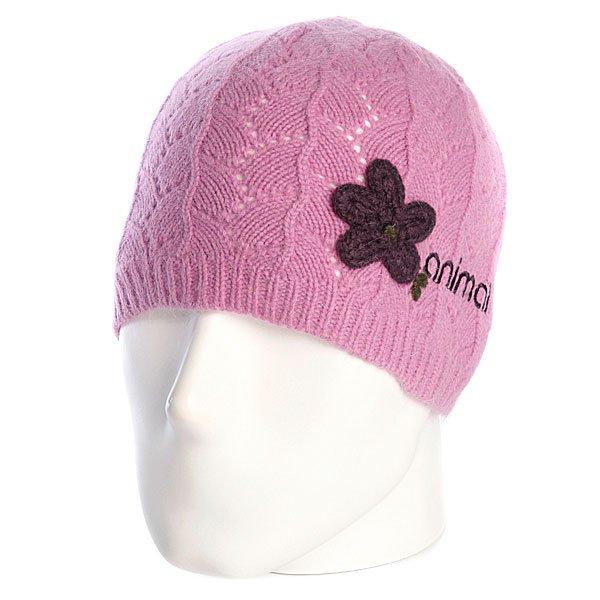 Шапка женская Animal Celest Beanie Pink<br><br>Цвет: розовый<br>Тип: Шапка<br>Возраст: Взрослый<br>Пол: Женский