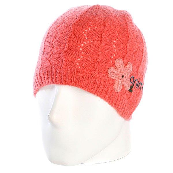 Шапка женская Animal Celest Beanie Coral<br><br>Цвет: оранжевый<br>Тип: Шапка<br>Возраст: Взрослый<br>Пол: Женский