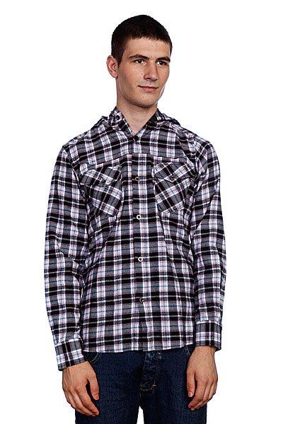 Рубашка в клетку Animal Snoops Black<br><br>Цвет: серый,черный<br>Тип: Рубашка в клетку<br>Возраст: Взрослый<br>Пол: Мужской
