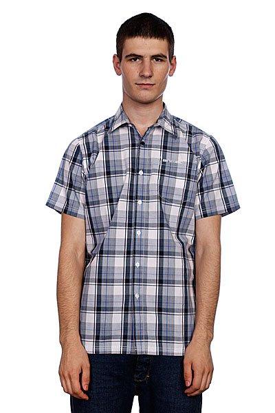 Рубашка в клетку Animal Sanday Nightshade Navy<br><br>Цвет: серый,белый<br>Тип: Рубашка в клетку<br>Возраст: Взрослый<br>Пол: Мужской