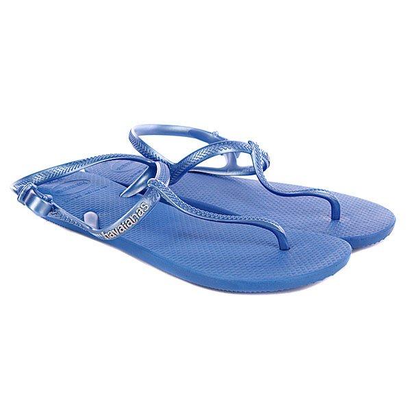 Сандалии женские Havaianas Freedom Light Blue<br><br>Цвет: голубой<br>Тип: Сандалии<br>Возраст: Взрослый<br>Пол: Женский