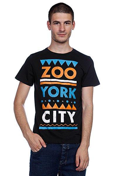 Футболка Zoo York Zyc Tribe Black<br><br>Цвет: черный<br>Тип: Футболка<br>Возраст: Взрослый<br>Пол: Мужской