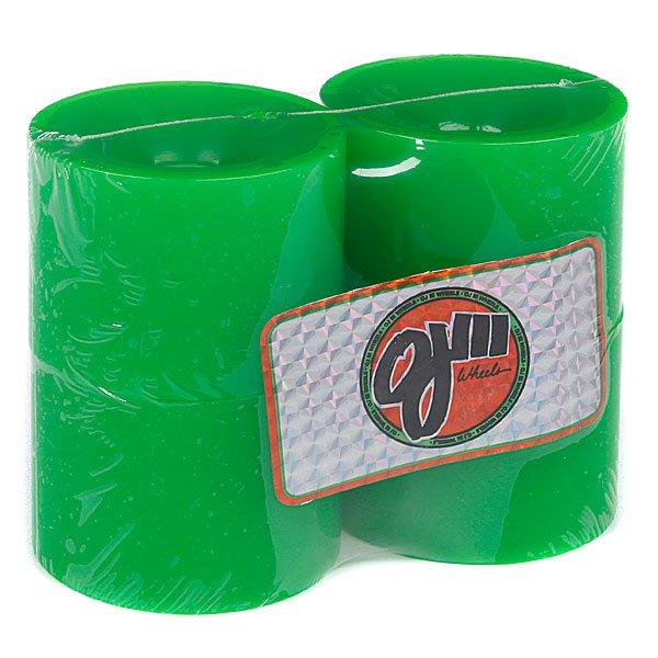 Колеса для скейтборда для лонгборда Oj Thunder Juice Neon Green 75 mmДиаметр: 75 mm<br><br>Цвет: зеленый<br>Тип: Колеса для лонгборда