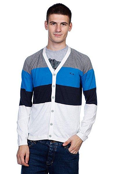 Кардиган Oakley 50S Cardigan Fluid Blue<br><br>Цвет: голубой<br>Тип: Кардиган<br>Возраст: Взрослый<br>Пол: Мужской