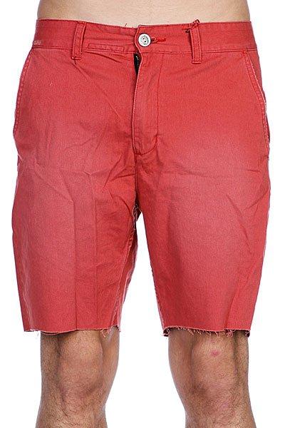 Классические мужские шорты Globe Bruce Walkshort Red<br><br>Цвет: красный<br>Тип: Шорты классические<br>Возраст: Взрослый<br>Пол: Мужской