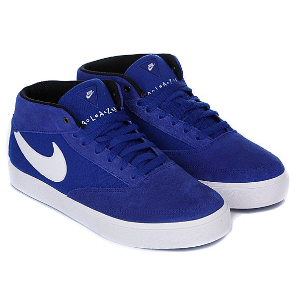 Кеды высокие Nike Omar Salazar LR Drenched Blue/White.