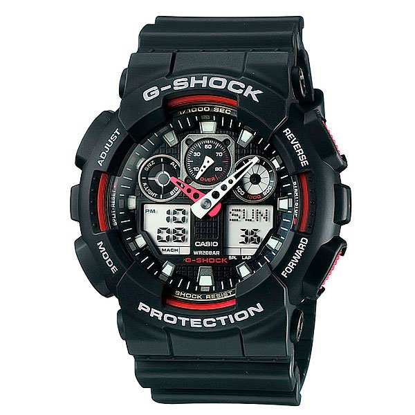 Часы Casio G-Shock GA-100-1A4 casio часы g shock ga 100 1a4