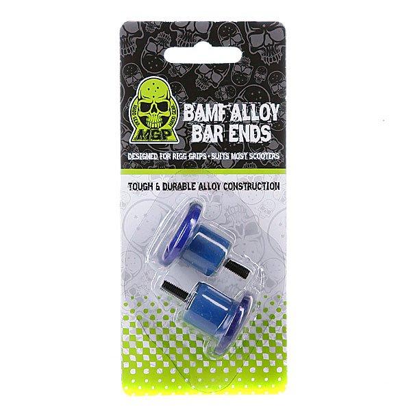 Заглушка на грипсы для самоката Mgp Bamf Bar Ends Blue (2 Pack) Proskater.ru 800.000