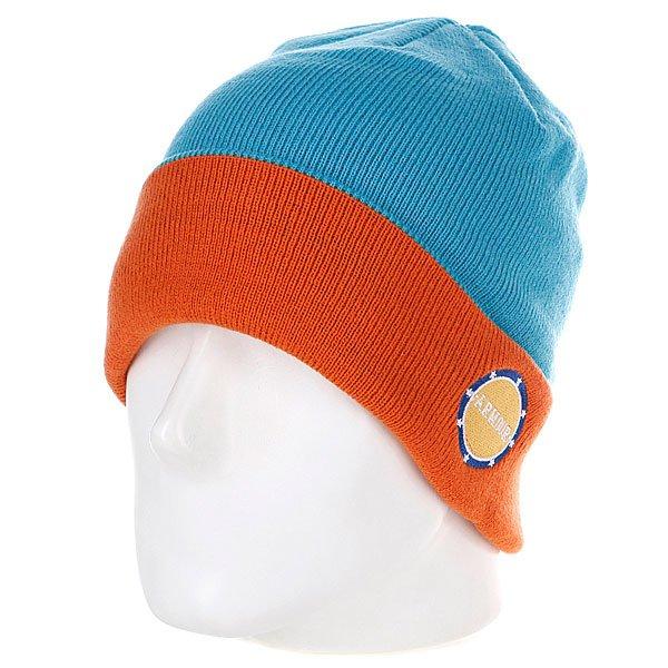 Шапка Armour Park Beanie Blue/Orange<br><br>Цвет: голубой,оранжевый<br>Тип: Шапка<br>Возраст: Взрослый<br>Пол: Мужской