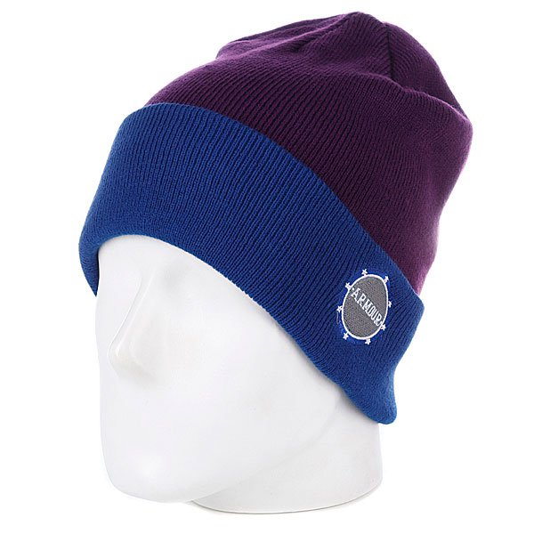 Шапка Armour Park Beanie Blue/Purple