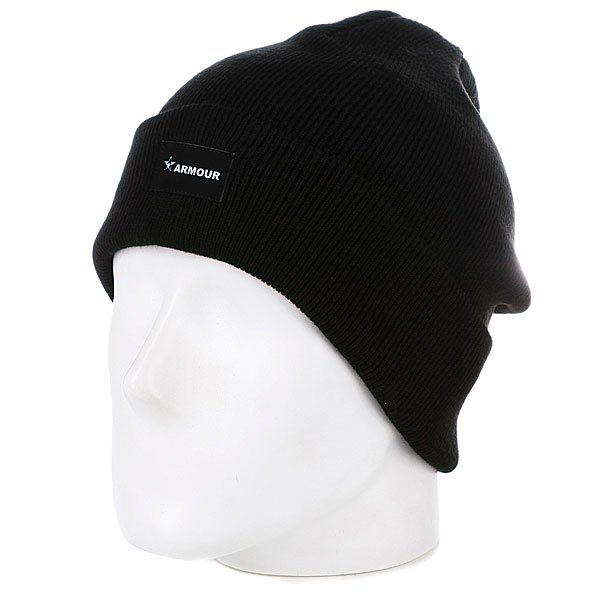 Шапка Armour True Beanie Black