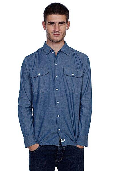Рубашка Dickies Chambrey Blue<br><br>Цвет: синий<br>Тип: Рубашка<br>Возраст: Взрослый<br>Пол: Мужской