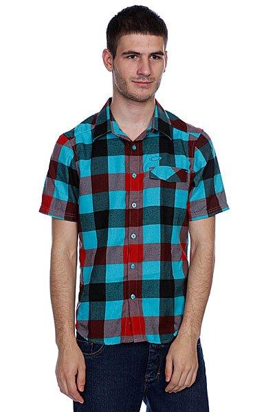Рубашка в клетку Oakley Daddy-0 Woven Bright Aqua