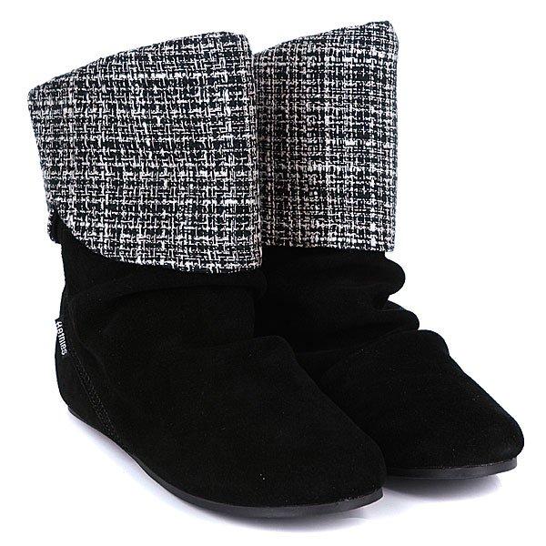 Сапоги женские Etnies Girl Dakota Ws Black/Black/Silver Proskater.ru 4220.000