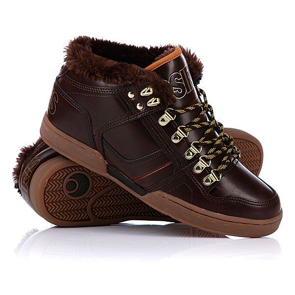 ���� ��������� ���������� Osiris Nyc 83 Mid Shr Brown/Gold/Gum
