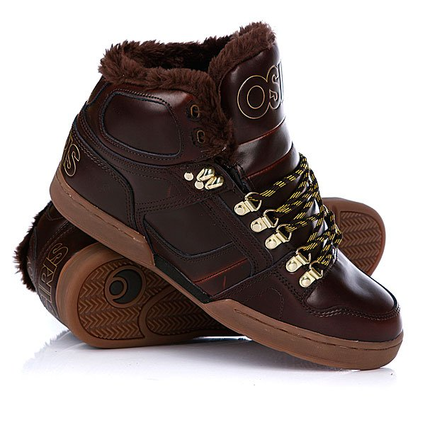 ���� ��������� ���������� Osiris Nyc 83 Shr Brown/Gold/Gum
