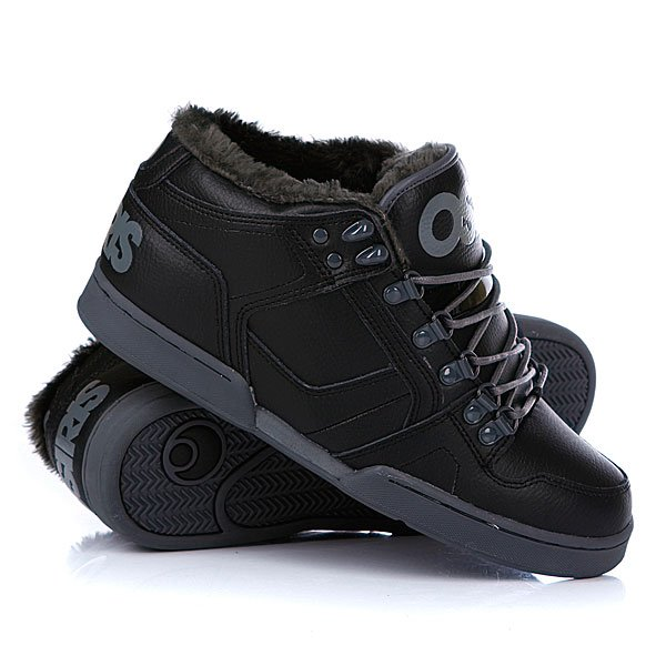 ���� ��������� ���������� Osiris Nyc 83 Mid Shr Black/Charcoal/Charcoal