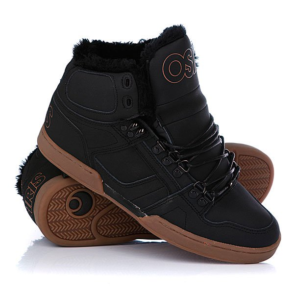 ���� ��������� ���������� Osiris Nyc 83 Shr Black/Black/Gum