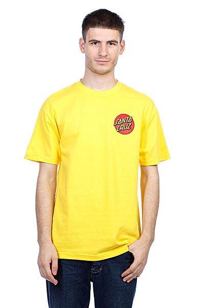 Футболка Santa Cruz Kendall Pure Style Yellow<br><br>Цвет: желтый<br>Тип: Футболка<br>Возраст: Взрослый<br>Пол: Мужской