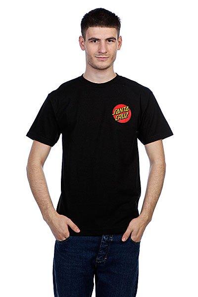 Футболка Santa Cruz Kendall Pure Style Black<br><br>Цвет: черный<br>Тип: Футболка<br>Возраст: Взрослый<br>Пол: Мужской