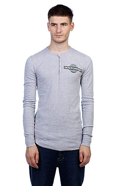 Лонгслив Independent 78 B/C Chest Thermal Heather Grey