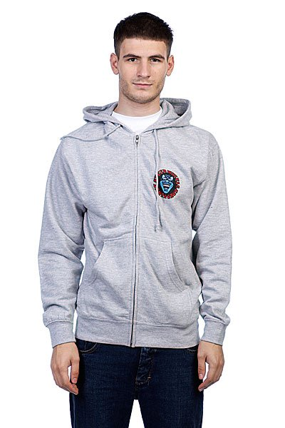 Толстовка Santa Cruz Screaming Hand Grey Heather штаны сноубордические santa cruz andromeda fern green