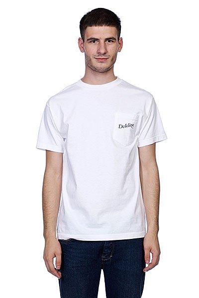 Футболка Dekline Greetings Cream<br><br>Цвет: белый<br>Тип: Футболка<br>Возраст: Взрослый<br>Пол: Мужской