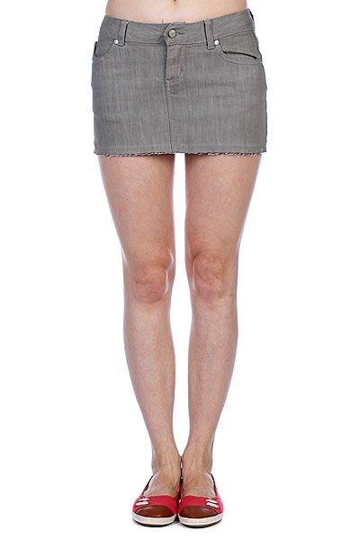 Юбка женская Ezekiel Harrison Mini Skirt Slate