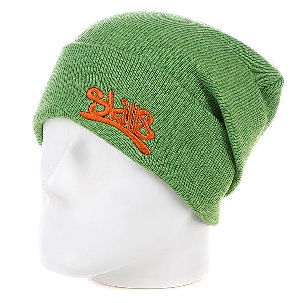 Шапка Skills Beanie 001 Olive/Brick Proskater.ru 850.000