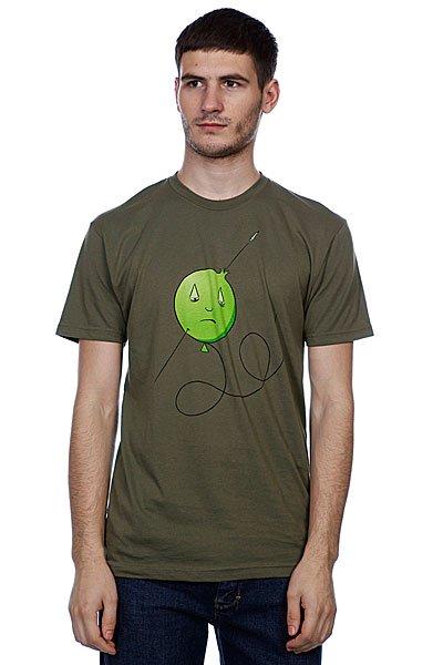 Футболка Toy Machine Ballon Army<br><br>Цвет: зеленый<br>Тип: Футболка<br>Возраст: Взрослый<br>Пол: Мужской