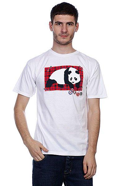 Футболка Enjoi Punky 2 White<br><br>Цвет: белый<br>Тип: Футболка<br>Возраст: Взрослый<br>Пол: Мужской