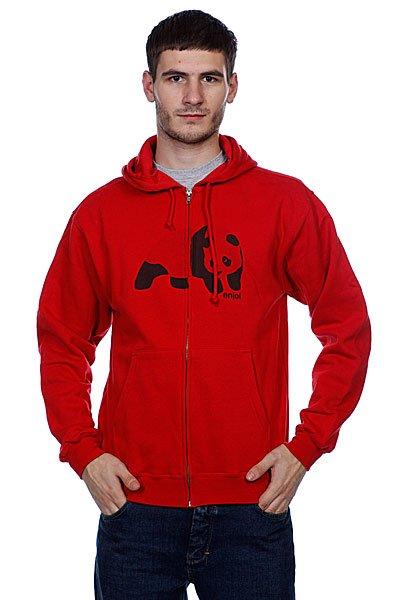 Толстовка Enjoi Easy Panda Print Red<br><br>Цвет: красный<br>Тип: Толстовка классическая<br>Возраст: Взрослый<br>Пол: Мужской