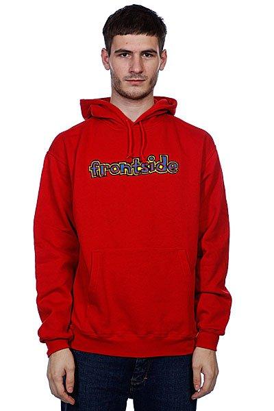 Кенгуру Blind Frontside/Backside Red<br><br>Цвет: красный<br>Тип: Толстовка кенгуру<br>Возраст: Взрослый<br>Пол: Мужской