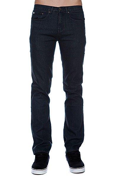 Джинсы узкие мужские зауженные Enjoi Panda Slim Straight Jean Medium Indigo<br><br>Цвет: синий<br>Тип: Джинсы узкие<br>Возраст: Взрослый<br>Пол: Мужской