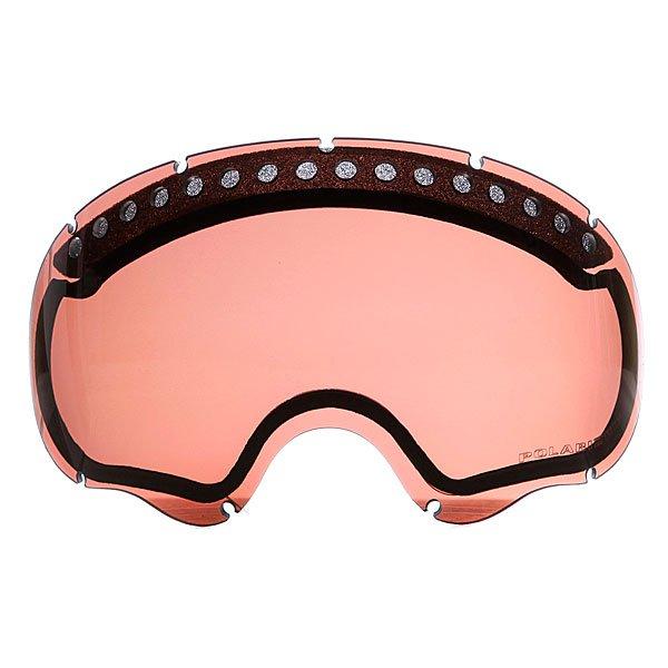 Линза для маски Oakley Repl Lens A Frame Dual Vented Vr 28 PolarizedТехнические характеристики:  Устойчивый к царапинам фильтр Lexan ® на 100% защищает от ультрафиолетового излучения (блокирует вредное UVA, UVB, UVC излучение, а также ультрафиолетовое излучение до 400 NM).   Непревзойденная ясность и точность изображения благодаря патентованной инновационной технологии High Definition Optics® (HDO®), подстроенной под новую архитектуру оправы, устраняющую давление на линзу. Антибликовая технология тонирования Iridium.  Технология антизапотевания линз F3 anti-fog. Инженерия линзы CAD/CAM упрощает замену линзы и снижает чрезмерное давление при установке.  Светопередача – 28 %, линза идеальна для яркого света. Для моделей масок Oakley А Frame.<br><br>Тип: Линза для маски<br>Возраст: Взрослый<br>Пол: Мужской