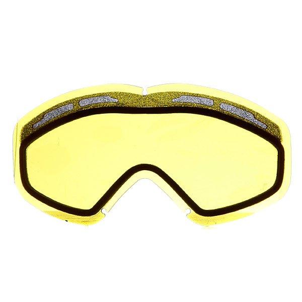 Линза для маски Oakley Series 3 Dual Snow Rep Lens YellowТехнические характеристики: Двойная конфигурация линз с запатентованной геометрией.  Устойчивый к царапинам фильтр PLUTONITE® на 100% защищает от ультрафиолетового излучения (блокирует вредное UVA, UVB, UVC излучение, а также ультрафиолетовое излучение до 400 NM). Антибликовая технология тонирования Iridium.  Технология антизапотевания линз F3 anti-fog.  Инженерия линзы CAD/CAM упрощает замену линзы и снижает чрезмерное давление при установке. Светопередача – 81 %, линза идеальна для приглушенного и очень слабого света. Соответствует оптическому стандарту ANSI Z80.3. Для моделей масок Oakley Series 3 Dual Snow.<br><br>Тип: Линза для маски<br>Возраст: Взрослый<br>Пол: Мужской