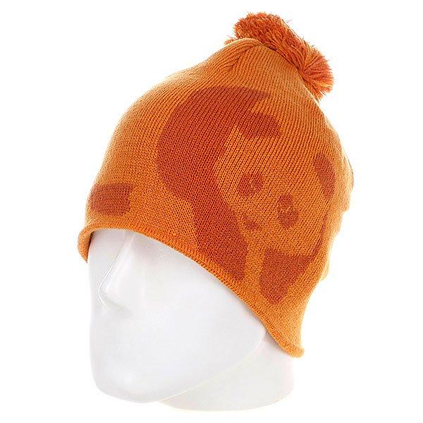 Шапка с помпоном мужская Enjoi Teeny Weeny Orange<br><br>Цвет: оранжевый<br>Тип: Шапка<br>Возраст: Взрослый