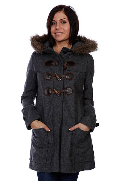 Куртка женская Element Duffy Ii Charcoal Heather
