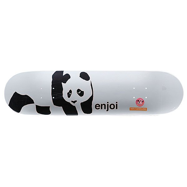 Дека для скейтборда Enjoi Panda Logo Wide R7 Whitey 31,9 In 8,0 (20,3 см)  clear fit enjoi tm 7 25