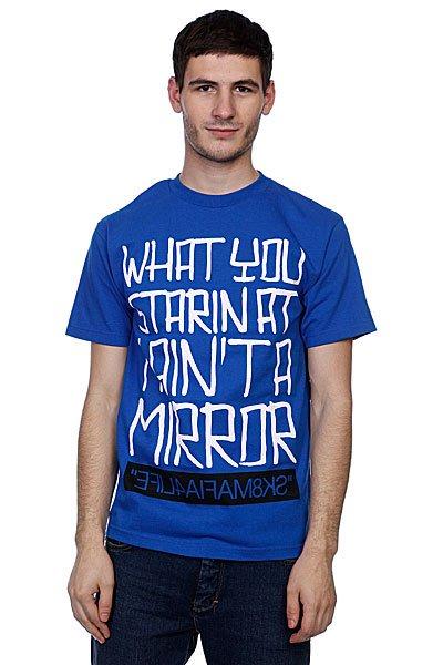 Футболка Sk8Mafia Mirror Blue<br><br>Цвет: синий<br>Тип: Футболка<br>Возраст: Взрослый<br>Пол: Мужской